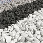 Pebble river collection / Набор речной гальки