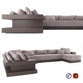 Italian Furniture Luxury Leather Sofa