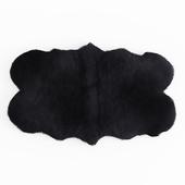 Forsyth Sheepskin Rug Black