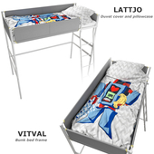 Bed vitval