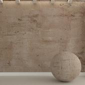 Бетонная стена. Старая штукатурка. 43