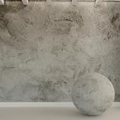 Бетонная стена. Старый бетон. 90