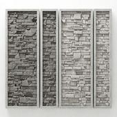 Stone panel frame / Панель из камня в раме