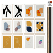 """Poster Set """"Abstracts 01"""""""