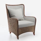 Palecek kingston wing chair