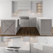 Neo Classic Gray Kitchen