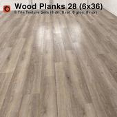 Plank Wood Floor - 28 (6x36)
