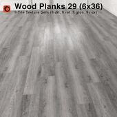 Plank Wood Floor - 29 (6x36)