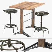 Horeca bar table stool