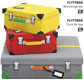 Ikea Flyttbar box set