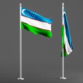 Flag uzb