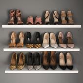 A set of women's shoes I Women shoes _02