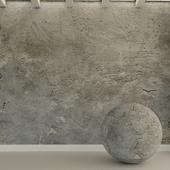 Бетонная стена. Старый бетон. 103