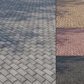 Бетонная тротуарная плитка Тип 1