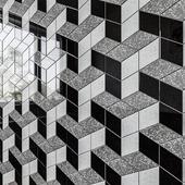ATLAS CONCORDE MARVEL GEMS Mosaico Esagono Optical Cold
