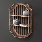 Bamboo Shelf Unit