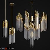 Burj chandelier & pendant luxxu