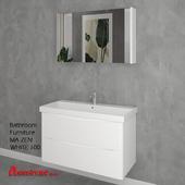 Bathroom Furniture MA ZEN WHITE 100cm