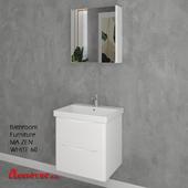 Bathroom Furniture MA ZEN WHITE 60cm