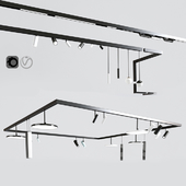 Ceiling Track Light Project 02