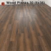 Plank Wood Floor - 30 (6x36)