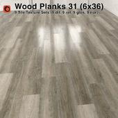 Plank Wood Floor - 31 (6x36)