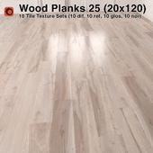 Plank Wood Floor - 25 (20x120)