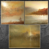 Paintings abstract | set 438