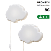Ikea Dromsyn wall lamp