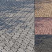 Бетонная тротуарная плитка Тип 2