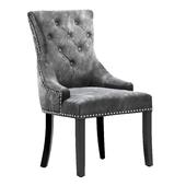 Chair velor gray, Garda Decor