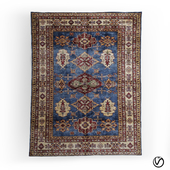 Blue Color Tribal Shirvan Rug