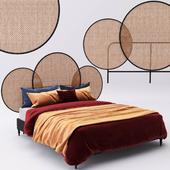 Bed indochine