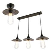 Industrial Reznor Pendant Lamps