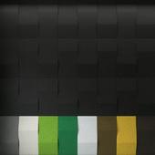 "Acoustic panels ""Abstracta Triline"""