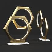 Table lamp Hexum Eichholtz