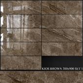 Yurtbay Seramik Kios Brown 300x900 Set 1