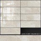 Yurtbay Seramik Kios Ivory 300x900 Set 1