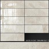 Yurtbay Seramik Kios Ivory 300x900 Set 2