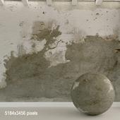 Бетонная стена. Старый бетон. 112