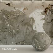 Бетонная стена. Старый бетон. 113