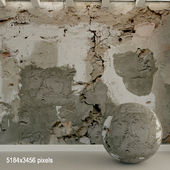 Бетонная стена. Старый бетон. 114