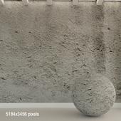 Бетонная стена. Старый бетон. 124