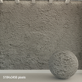 Бетонная стена. Старый бетон. 126