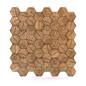 OM Wood Slab Wall Panels