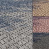 Бетонная тротуарная плитка Тип 3