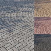 Бетонная тротуарная плитка Тип 5