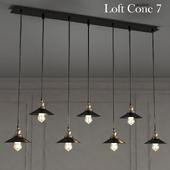 Loft Cone Pendant Line 7