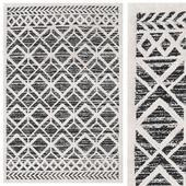 Carpet Royal - Black / Cream