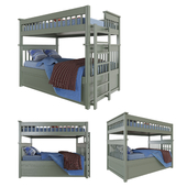 Children's bunk bed. Baby bed.